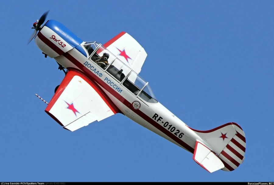 Спортивно-тренировочный самолёт Як-52