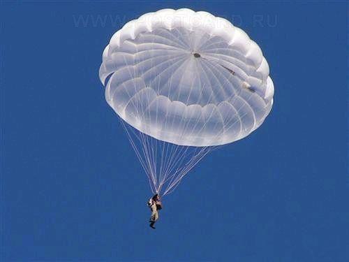 Прыжки с парашютом Приземление на парашюте Д-10