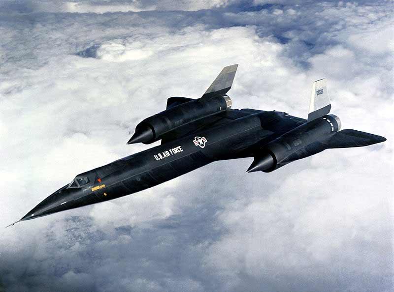 SR -71 Американский гиперзвуковой разведчик.__1876097
