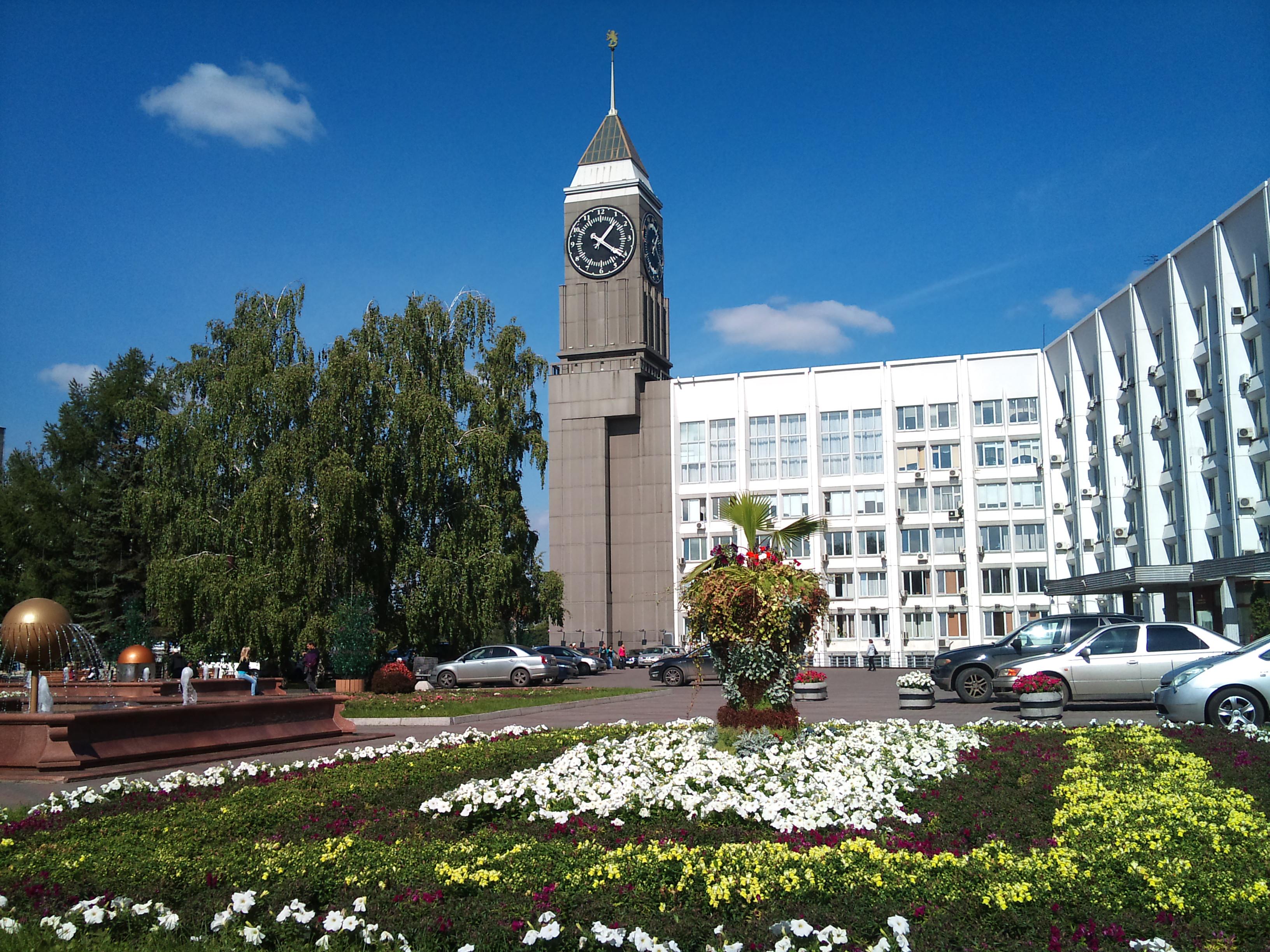 Красноярск Администрация города. 24.08.2012года