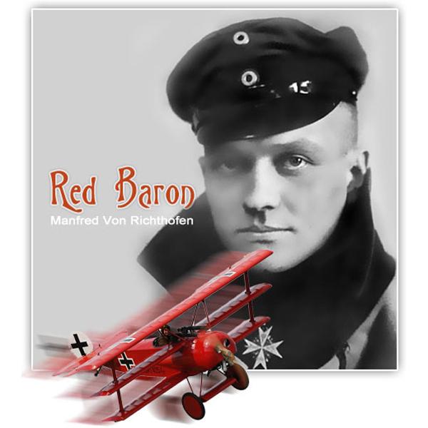 Манфред фон Рихтгофен Красный барон