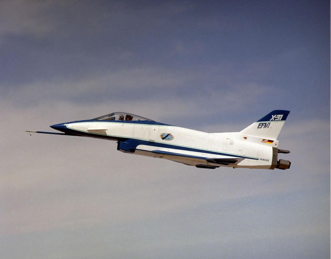 Американский экспериментальный самолёт X-31Rockwell