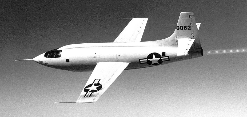Американский сверхзвуковой экспериментальный самолёт Bell X-1