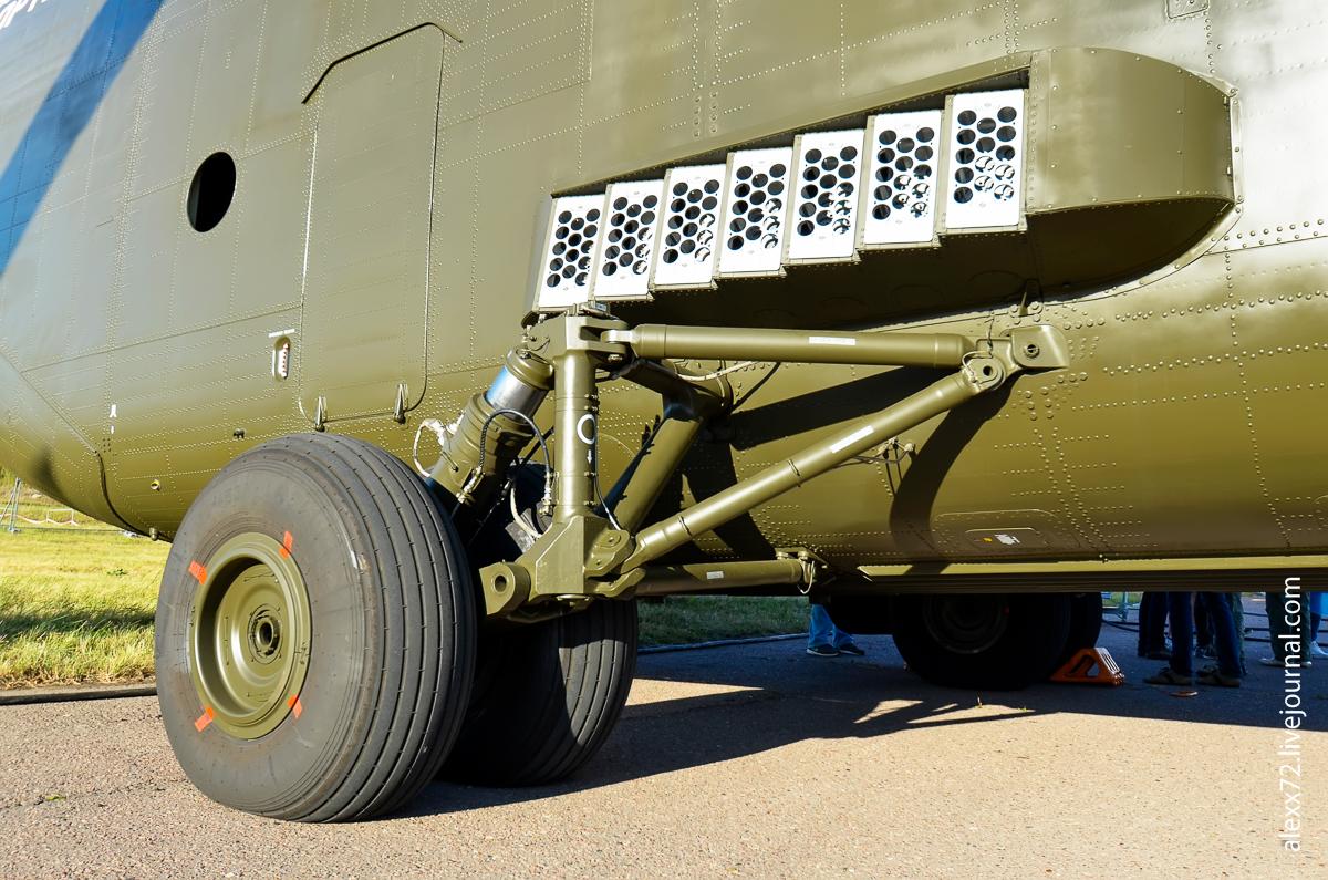 Установка отстрела тепловых ловушек самого большой в мире СЕРИЙНОГО транспортного вертолёта Mи-26