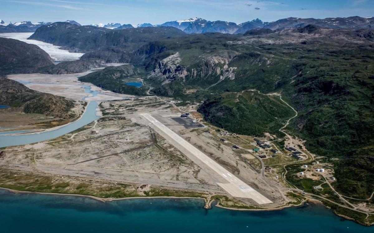 Аэропорт Нарсарсуак в Гренландии