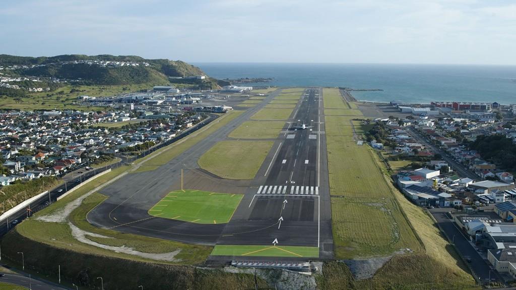 Аэропорт Веллингтон в Новой Зеландии