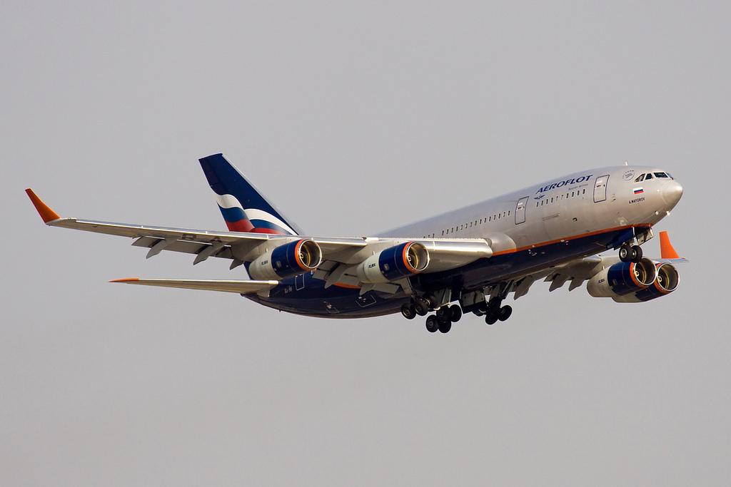 Ил-96-300 Посадка