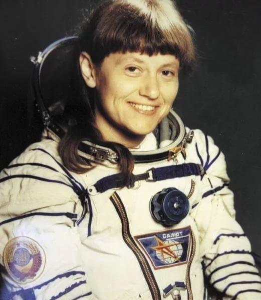 Светлана Евгеньевна Савицкая космонавт СССР Дважды Герой Советского Союза