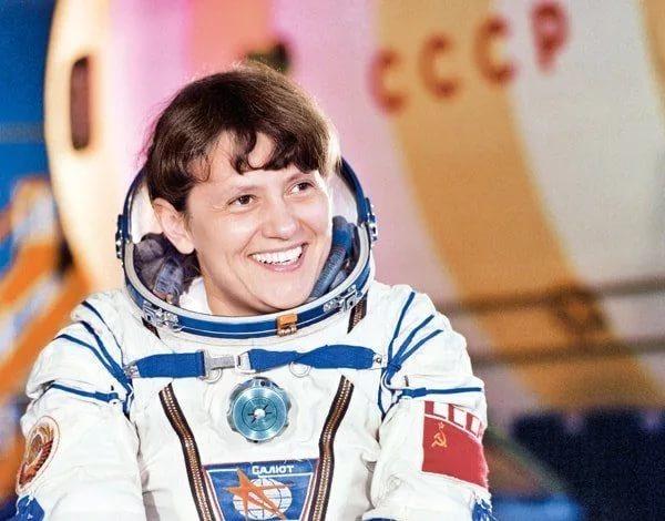 Светлана Евгеньевна Савицкая космонавт СССР