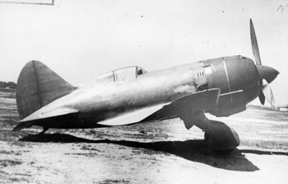Опытный истребитель И-180 на котором разбился Валерий Павлович Чкалов