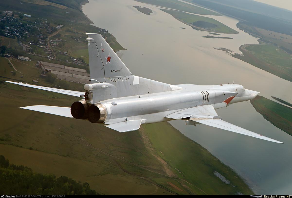 Ту-22М3 Положение крыльев с минимальной стреловидностью
