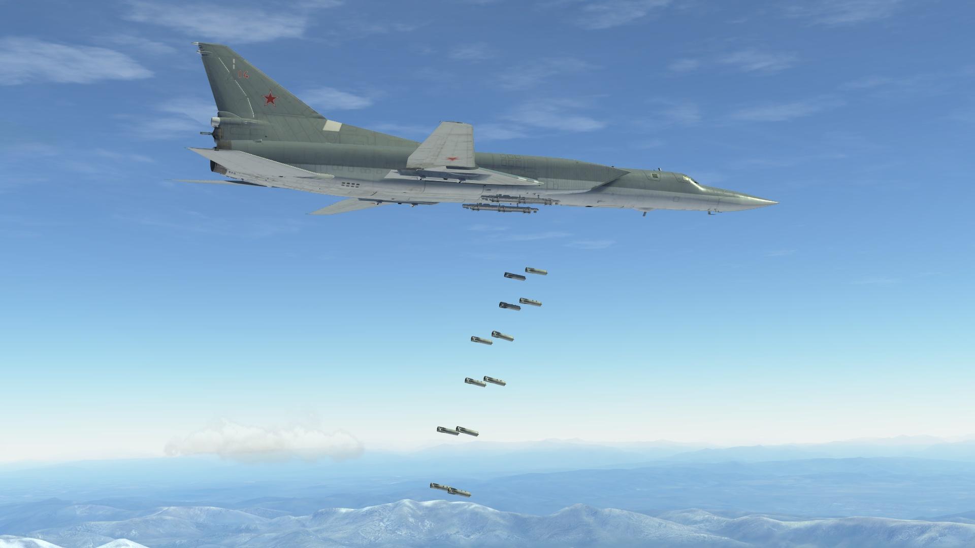 Ту-22М3 стратегический бомбардировщик