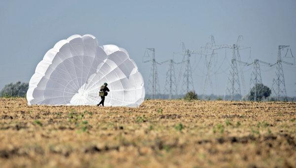 Прыжки с парашютом Приземление