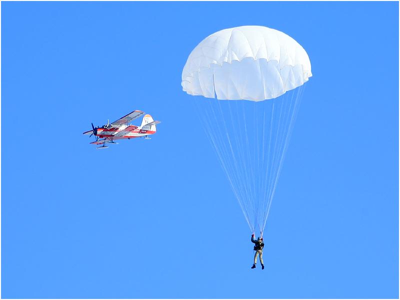 Виды прыжков с парашютом