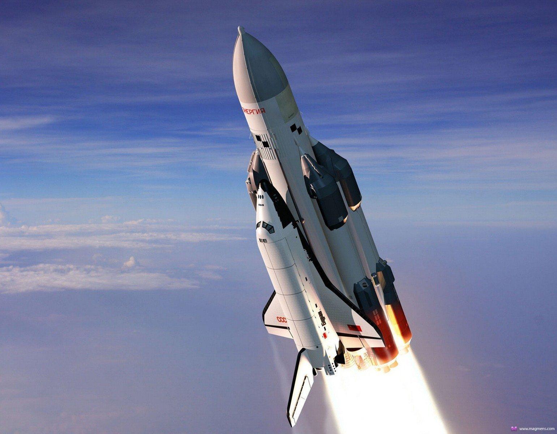 Ракета-носитель Энергия с космическим кораблем Буран Мощность Энергии-170 000 000 л.с.