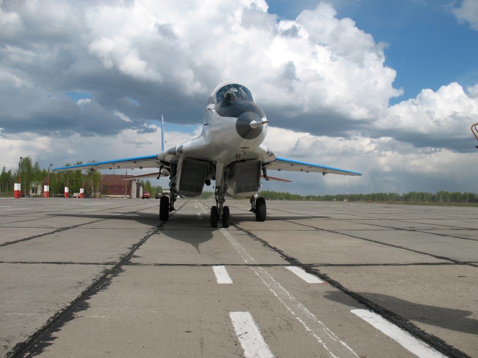МиГ-29 на аэродроме
