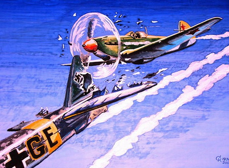 Воздушный таран в годы Второй Мировой войны