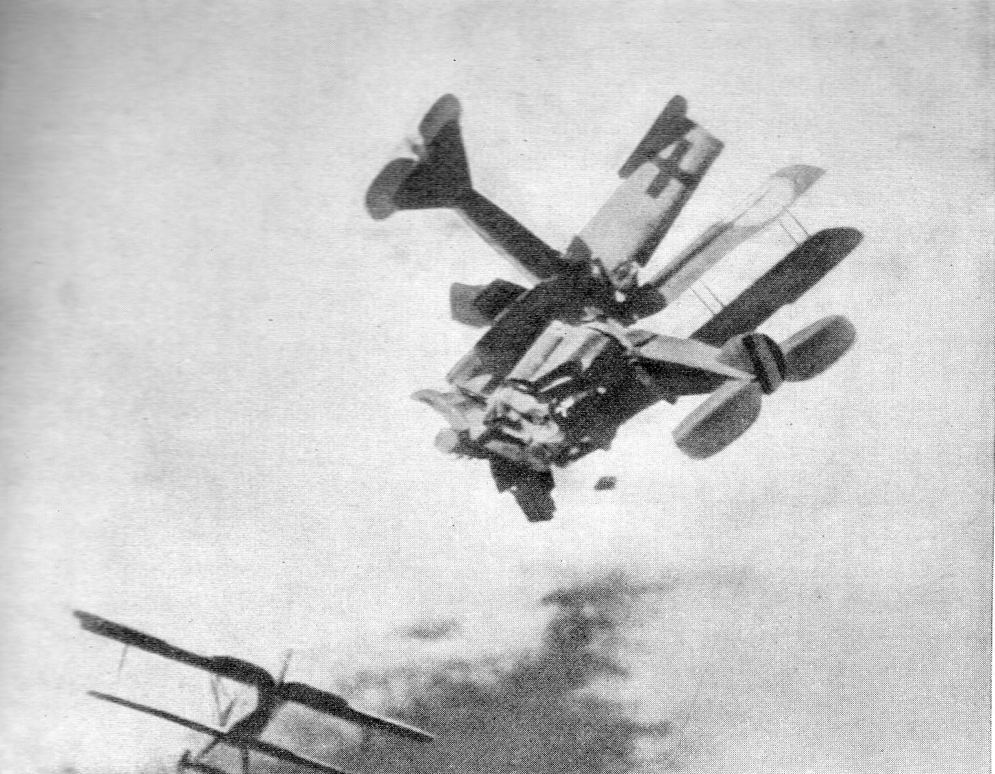 Воздушный таран во времена Нестерова