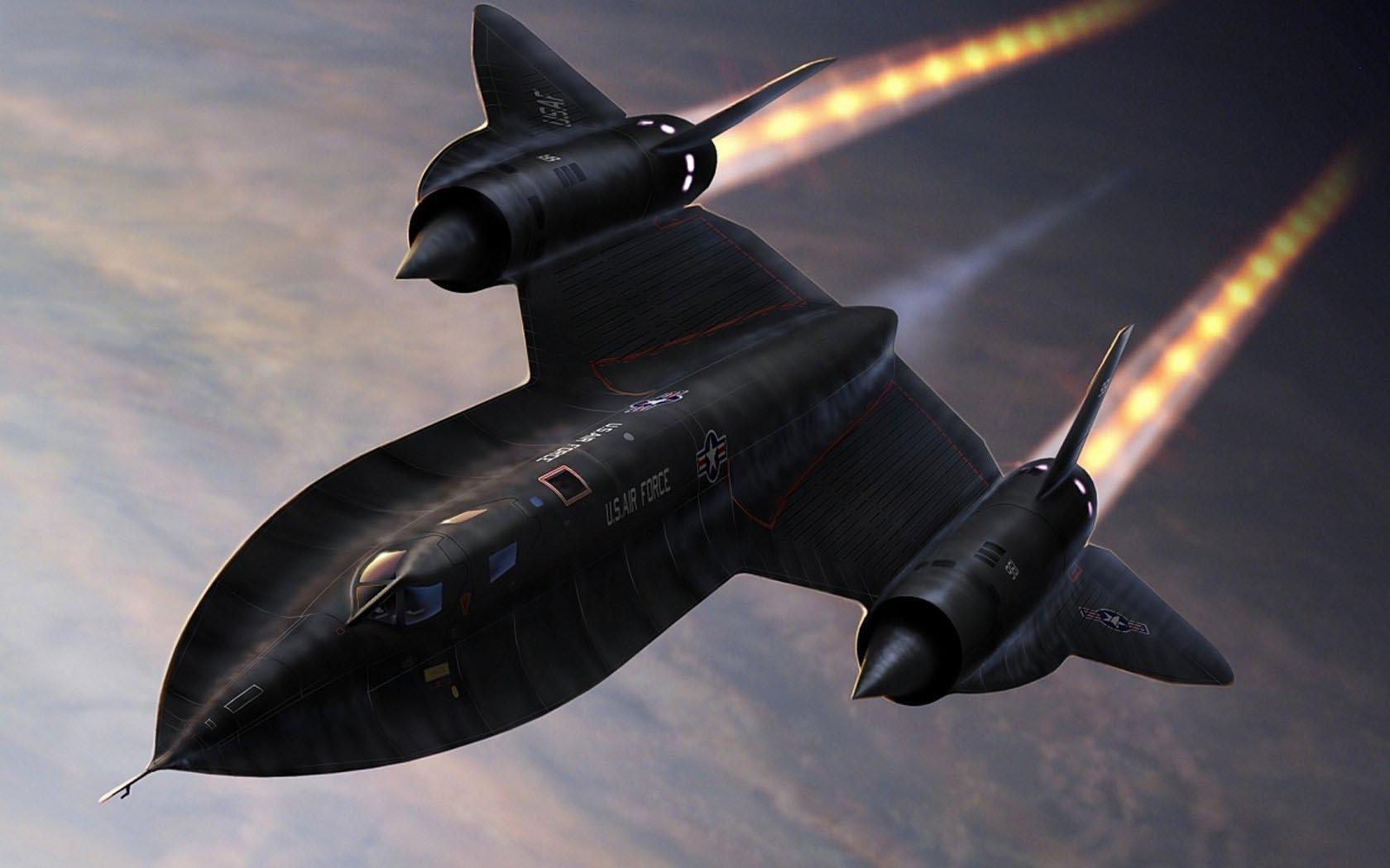 Американский гиперзвуковой разведчик SR-71