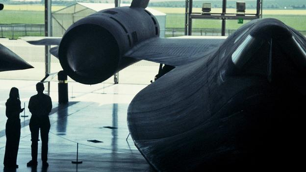 SR - 71 Американский гиперзвуковой разведчик._