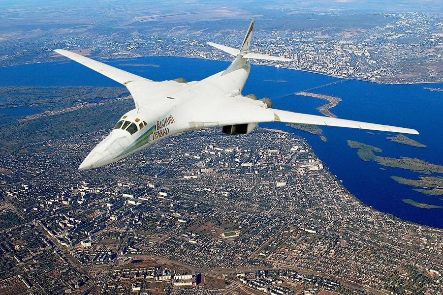 Ту-160 Полёт на дозвуковой крейсерской скорости
