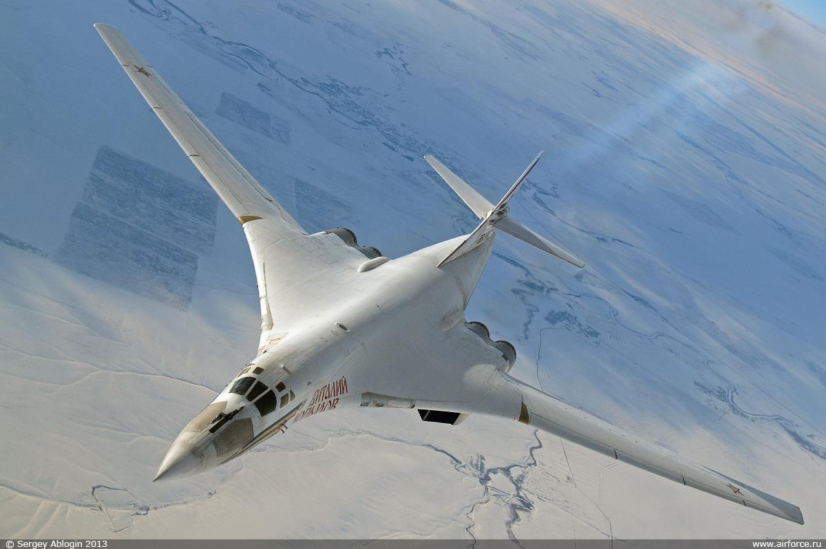 Ту-160 Полёт на дозвуковой скорости
