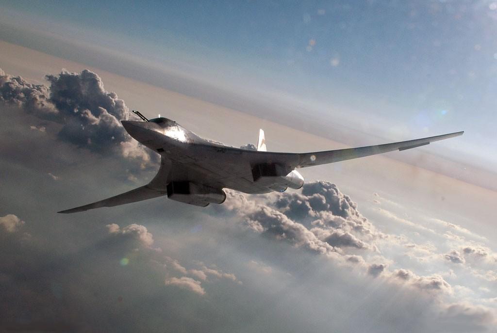 Ту-160 Полёт на крейсерской скорости