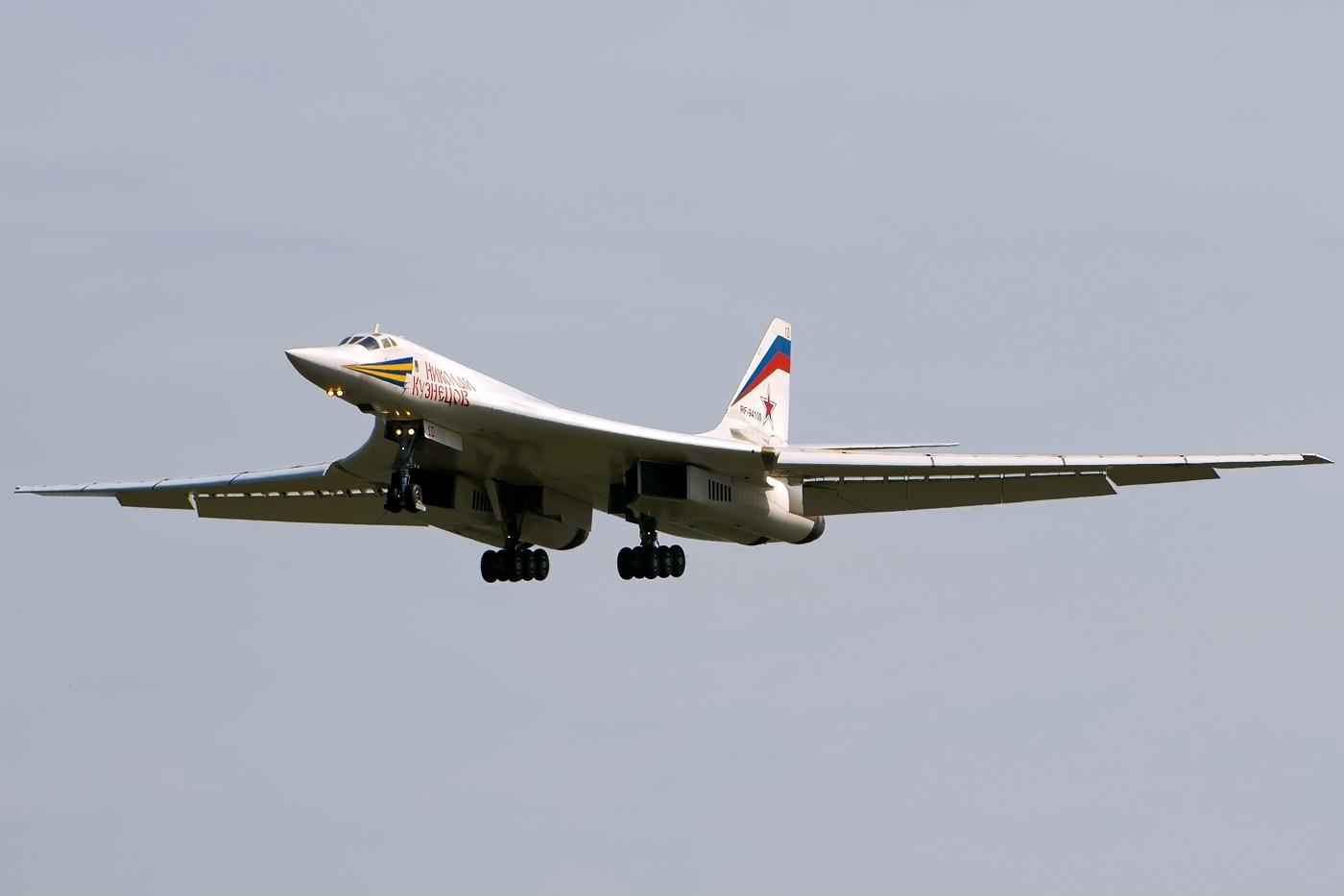 Ту-160 Посадка Глиссада