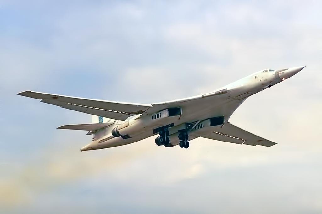 Ту-160 Посадка Выпуск шасси