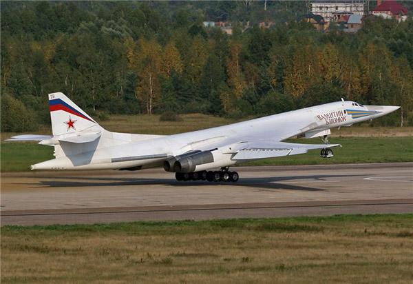 Ту-160 Взлёт Момент отрыва