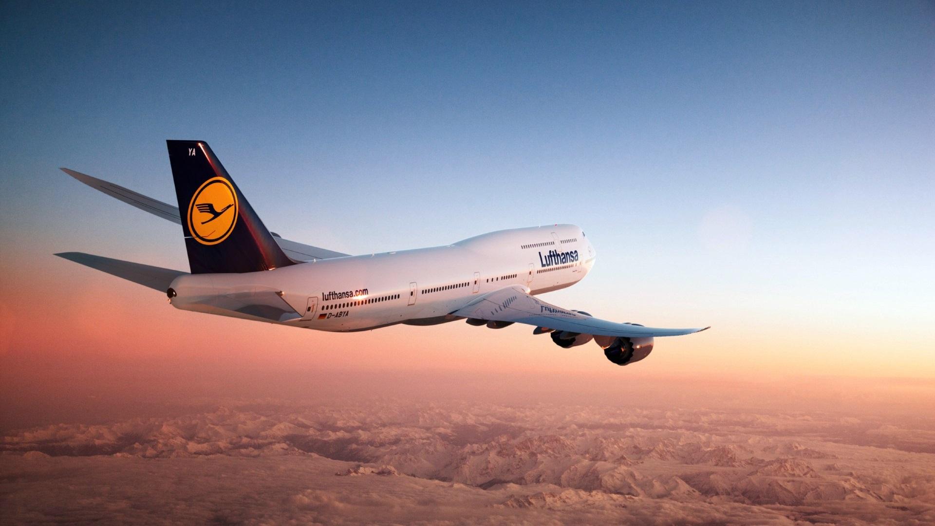 Боинг 747 Авиакомпания Люфтганза