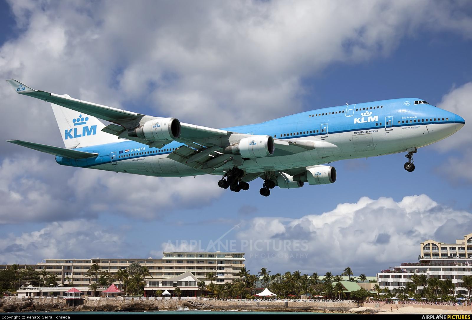 Боинг 747 Карибское море Антильские острова Остров Сен-Мартен