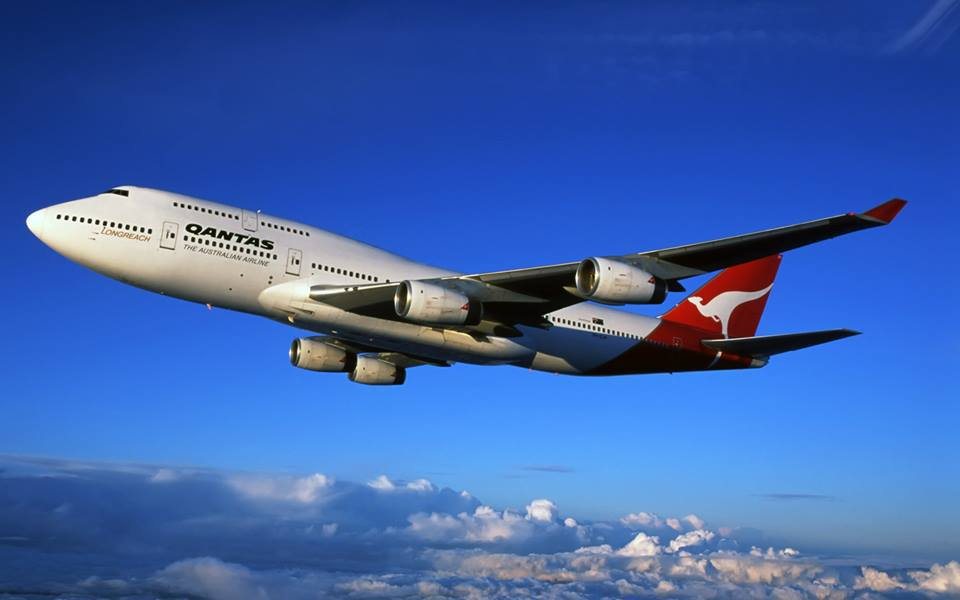 Боинг 747 Взлёт