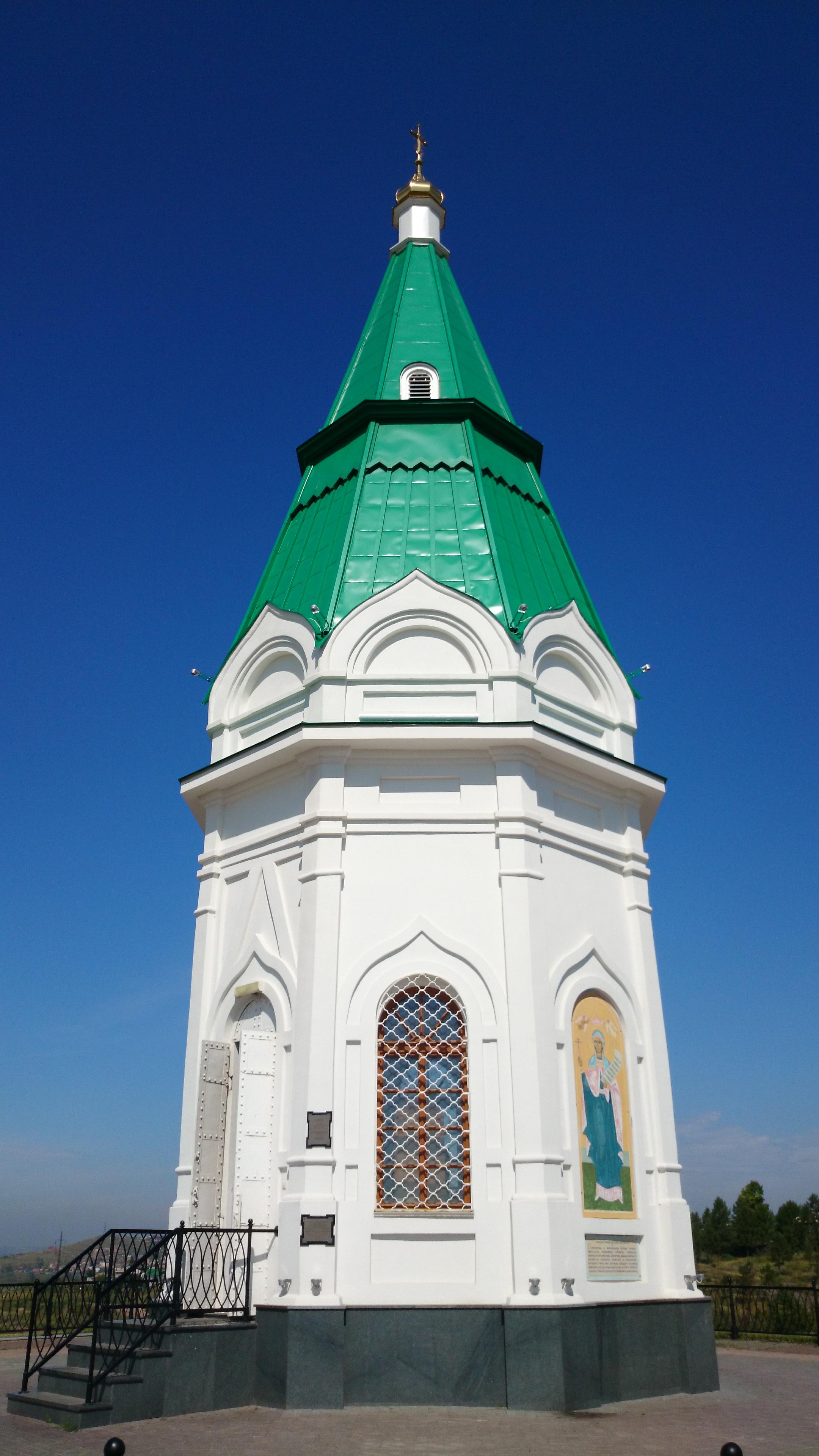 Красноярск Часовня Памятник архитектуры 19-го века. 28.07.2015 года