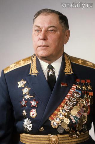 Александр Иванович Покрышкин после войны во время службы в авиации СССР
