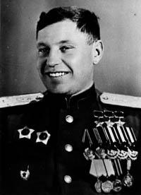 Александр Иванович Покрышкин сразу после войны