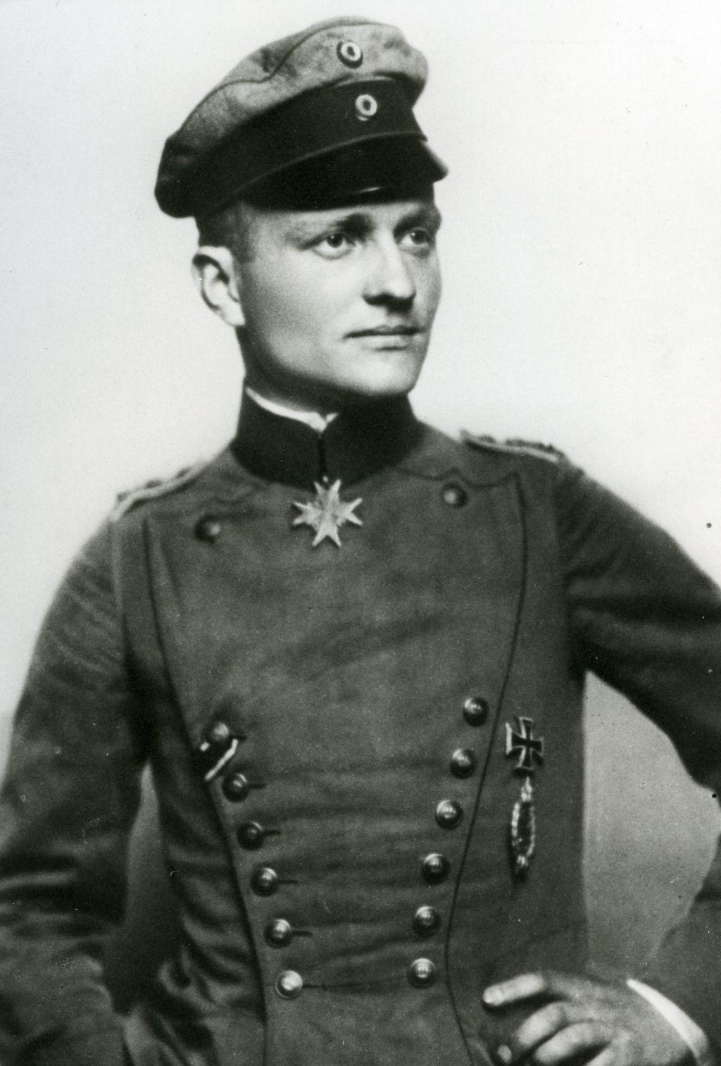 Манфред фон Рихтгофен Немецкий лётчик-истребитель асс на фронте