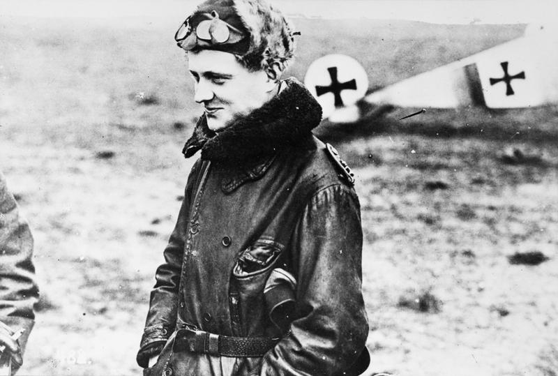 Манфред фон Рихтгофен опытный лётчик