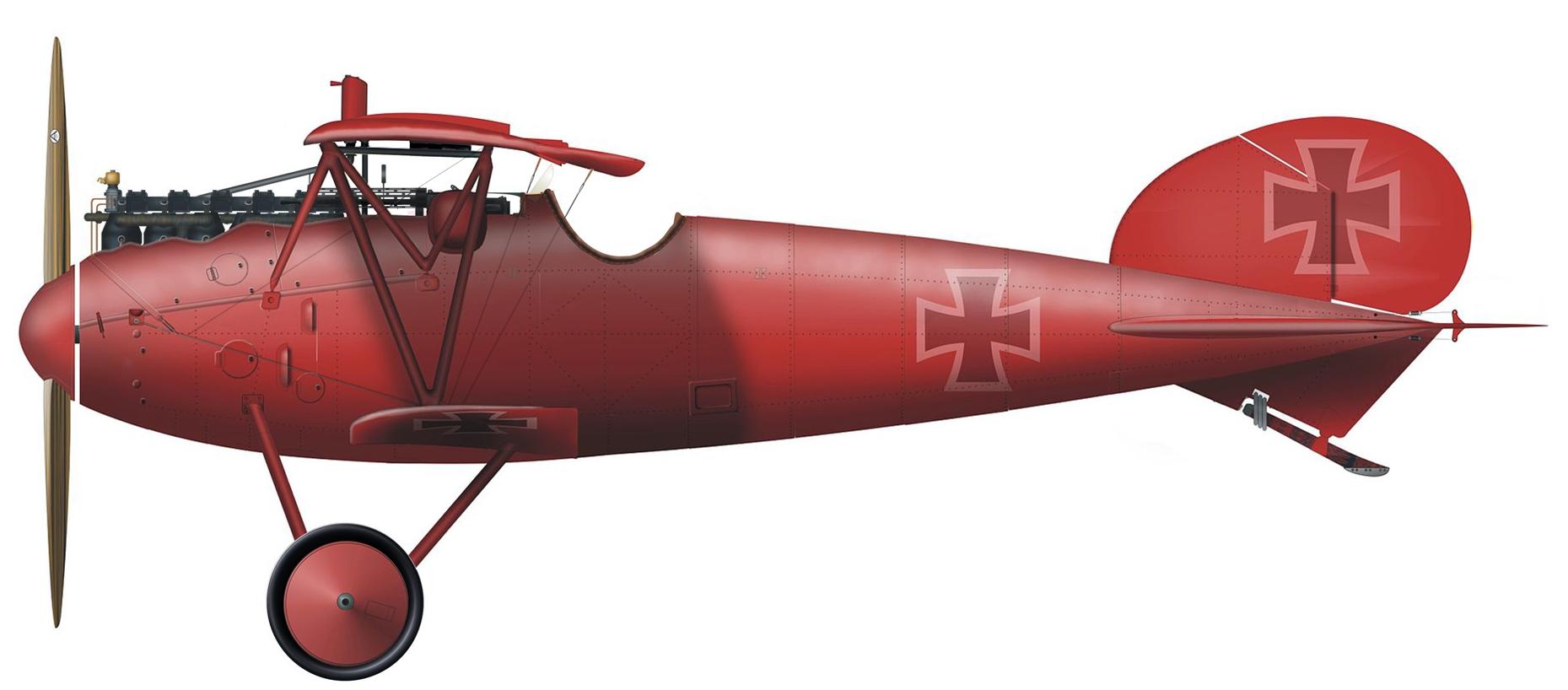 Немецкий истребитель Первой Мировой войны Альбатрос