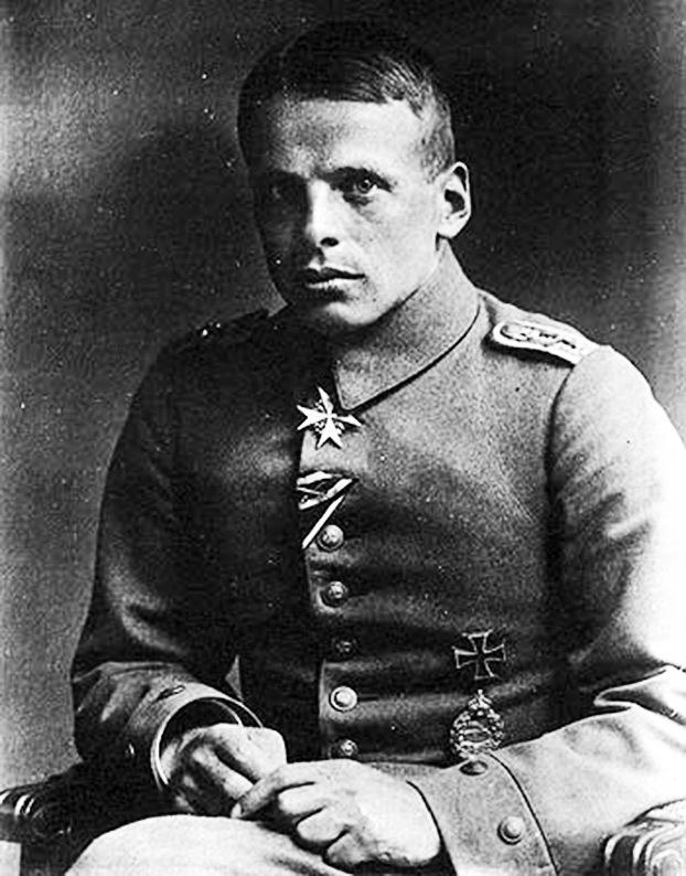 Освальд Бельке которого Манфред фон Рихтгофен называл своим учителем