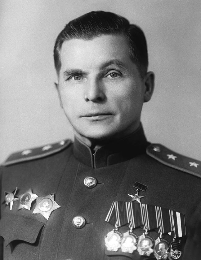 Сергей Владимирович Ильюшин 1940-е годы