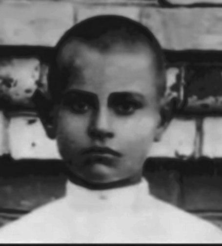 Алексей Петрович Маресьев в детстве