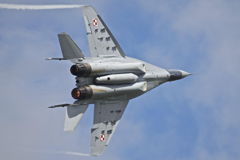 МиГ-29 на вираже