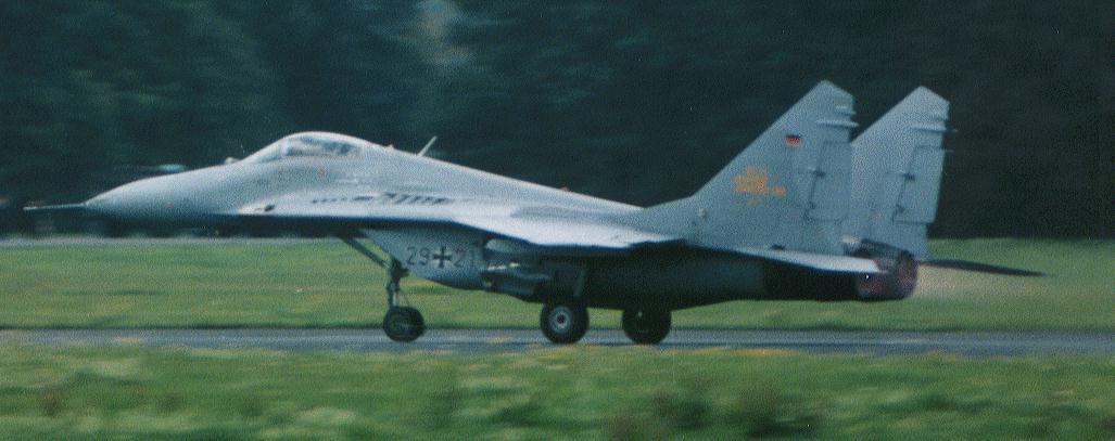 МиГ-29 принадлежавший авиации ГДР