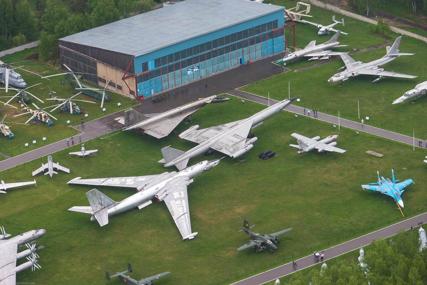 Авиационный музей в Монино