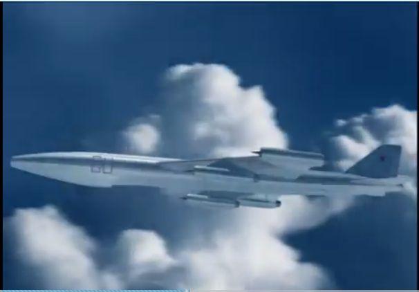 Проект самолёта Владимира Михайловича Мясищева Самолёт с ядерной силовой установкой М60