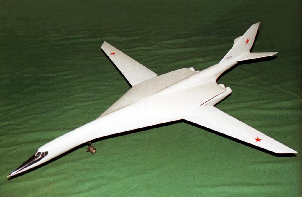 Самолёт Владимира Михайловича Мясищева с изменяемой стреловидностью крыла