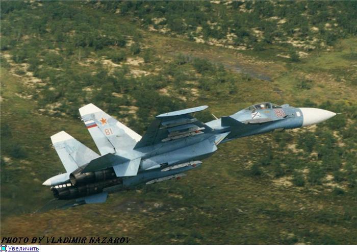 Су-33 на вираже