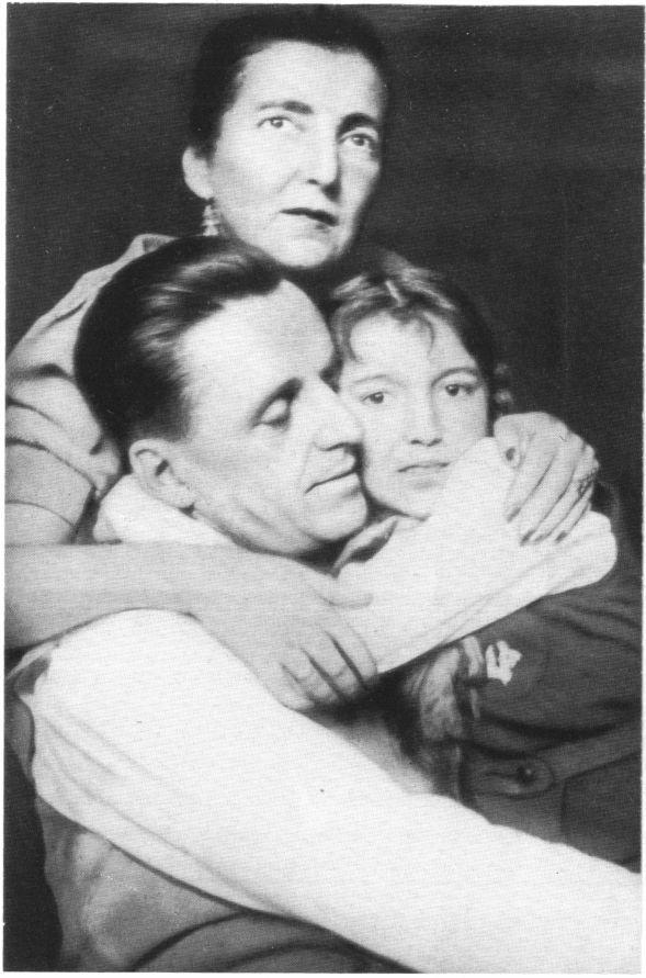 Владимир Михайлович Мясищев с семьёй