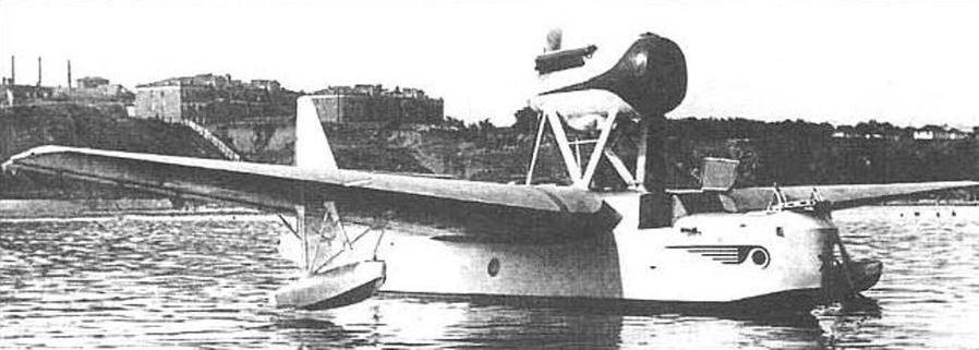 Гидросамолёт Георгия Михайловича Бериева МП-1 Пассажирский гидросамолёт